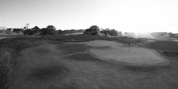 Barwon Heads Golf Course - par 3 practice course